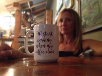 coffee mug and brelin